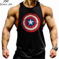 Майка Капитан Америка Black лот 4051