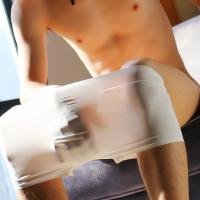Трусы мужские боксеры бесшовные Silk White лот 2131