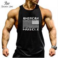 Черная майка спортивная American Muscle лот 4058