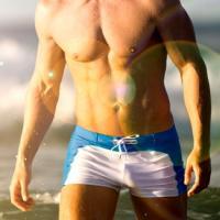 Плавки AussieBum #12 Синий\Белый
