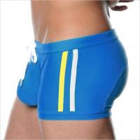 Мужские плавки с увеличивающим мешочком (Push Up) AussieBum Blue #115