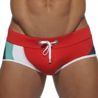 Плавки красные для спортивного плавания Seobean Multy Color Red лот 2224