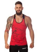 Майка мужская для спорта Gymshark Logo Red лот 4025