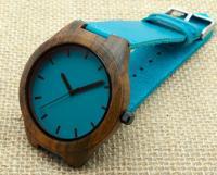 Наручные деревянные часы  Black Wood # 003