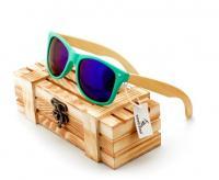 Очки деревянные Style Turquoise W016