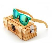 Мужские очки деревянные Style Turquoise W015