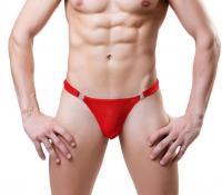 Стринги мужские красные Shino Red лот 2047