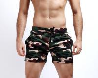 Шорты мужские милитари Seobean Camouflage Green лот 3340