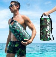 Сумка водонепроницаемая пляжная Sunline Green 15L лот SH009