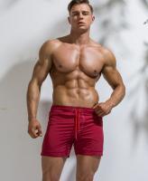 Бордовые шорты стильные Bordo лот 3387