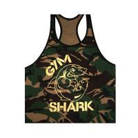 Майка спортивная камуфляжная Gym Shark лот 4040