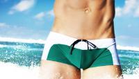Мужские стильные плавки AWARE Green #39