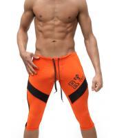 Бриджи для спорта мужские Aqux Orange #241